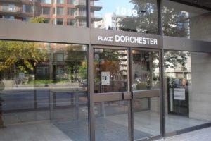 Place Dorchester Commercial Entrance