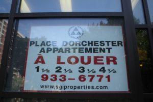 Place Dorchester - SGI sign 210
