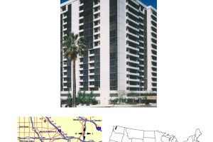 Under Condo Towers - USA - Whelshire Manning, California